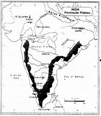 KSEEB SSLC Class 10 Geography Solutions Chapter 2 Indian Physiography 2