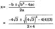 KSEEB SSLC Class 10 Maths Solutions Chapter 10 Quadratic Equations Ex 10.3 10