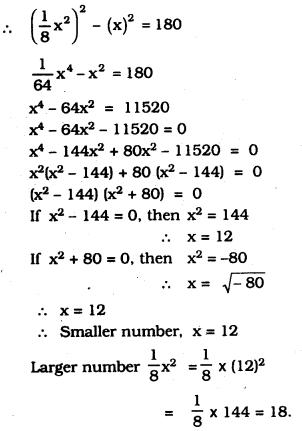 KSEEB SSLC Class 10 Maths Solutions Chapter 10 Quadratic Equations Ex 10.3 20