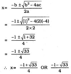 KSEEB SSLC Class 10 Maths Solutions Chapter 10 Quadratic Equations Ex 10.3 9