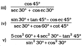 KSEEB SSLC Class 10 Maths Solutions Chapter 11 Introduction to Trigonometry Ex 11.2 1