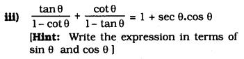 KSEEB SSLC Class 10 Maths Solutions Chapter 11 Introduction to Trigonometry Ex 11.4 13