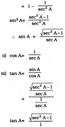 KSEEB SSLC Class 10 Maths Solutions Chapter 11 Introduction to Trigonometry Ex 11.4 2