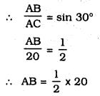 KSEEB SSLC Class 10 Maths Solutions Chapter 12 Some Applications of Trigonometry Ex 12.1 Q 1.1