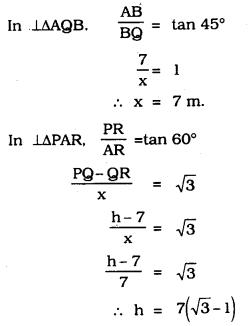KSEEB SSLC Class 10 Maths Solutions Chapter 12 Some Applications of Trigonometry Ex 12.1 Q 12.1