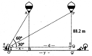 KSEEB SSLC Class 10 Maths Solutions Chapter 12 Some Applications of Trigonometry Ex 12.1 Q 14