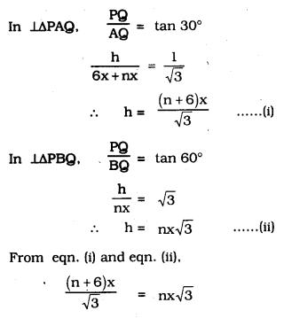 KSEEB SSLC Class 10 Maths Solutions Chapter 12 Some Applications of Trigonometry Ex 12.1 Q 15.1