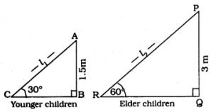 KSEEB SSLC Class 10 Maths Solutions Chapter 12 Some Applications of Trigonometry Ex 12.1 Q 3