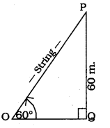KSEEB SSLC Class 10 Maths Solutions Chapter 12 Some Applications of Trigonometry Ex 12.1 Q 5
