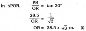 KSEEB SSLC Class 10 Maths Solutions Chapter 12 Some Applications of Trigonometry Ex 12.1 Q 6.1
