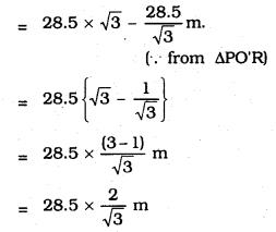 KSEEB SSLC Class 10 Maths Solutions Chapter 12 Some Applications of Trigonometry Ex 12.1 Q 6.2