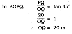 KSEEB SSLC Class 10 Maths Solutions Chapter 12 Some Applications of Trigonometry Ex 12.1 Q 7.1