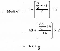 KSEEB SSLC Class 10 Maths Solutions Chapter 13 Statistics Ex 13.4 Q 2.3
