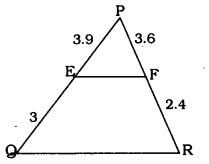 KSEEB SSLC Class 10 Maths Solutions Chapter 2 Triangles Ex 2.2 2