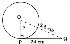 KSEEB SSLC Class 10 Maths Solutions Chapter 4 Circles Ex 4.2 1