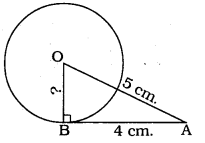 KSEEB SSLC Class 10 Maths Solutions Chapter 4 Circles Ex 4.2 6