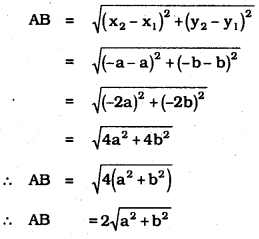 KSEEB SSLC Class 10 Maths Solutions Chapter 7 Coordinate Geometry Ex 7.1 3