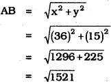 KSEEB SSLC Class 10 Maths Solutions Chapter 7 Coordinate Geometry Ex 7.1 4
