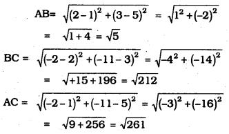 KSEEB SSLC Class 10 Maths Solutions Chapter 7 Coordinate Geometry Ex 7.1 6