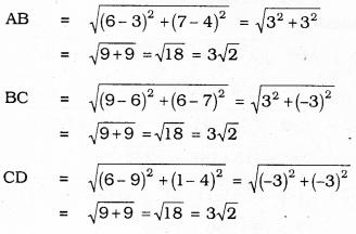 KSEEB SSLC Class 10 Maths Solutions Chapter 7 Coordinate Geometry Ex 7.1 9