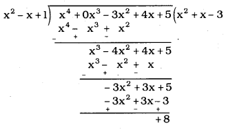 KSEEB SSLC Class 10 Maths Solutions Chapter 9 Polynomials Ex 9.3 2