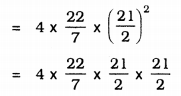 KSEEB Solutions for Class 9 Maths Chapter 13 Surface Area and Volumes Ex 13.4 Q 1.1