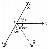 KSEEB Solutions for Class 9 Maths Chapter 3 Lines and Angles Ex 3.1 9