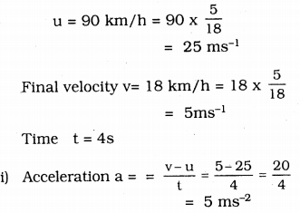 KSEEB Solutions for Class 9 Science Chapter 9 Force and Laws of Motion 7