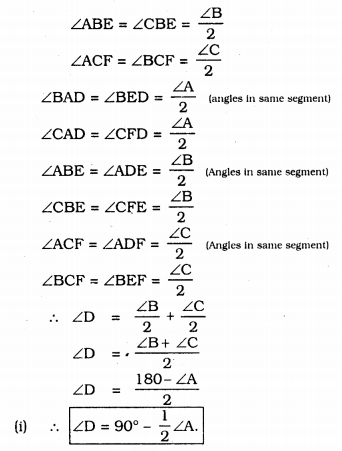KSSEB Solutions for Class 9 Maths Chapter 12 Circles Ex 12.6 10
