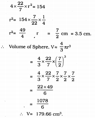 KSSEB Solutions for Class 9 Maths Chapter 13 Surface Areas and Volumes Ex 13.8 10