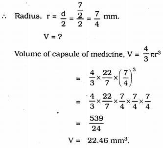 KSSEB Solutions for Class 9 Maths Chapter 13 Surface Areas and Volumes Ex 13.8 14