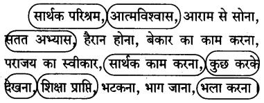 KSEEB SSLC Class 10 Hindi Solutions वल्लरी Chapter 17 कोशिश करनेवालों की कभी हार नहीं होती