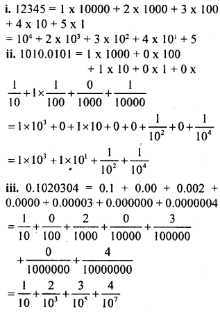 KSEEB Solutions for Class 8 Maths Chapter 10 Exponents Ex. 10.1 1