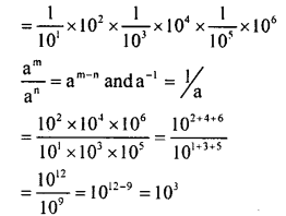 KSEEB Solutions for Class 8 Maths Chapter 10 Exponents Ex. 10.3 1