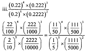 KSEEB Solutions for Class 8 Maths Chapter 10 Exponents Ex. 10.5 2