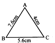 KSEEB Solutions for Class 8 Maths Chapter 11 Congruency of Triangles Ex. 11.7 2
