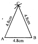 KSEEB Solutions for Class 8 Maths Chapter 12 Construction of Triangles Ex. 12.1 2