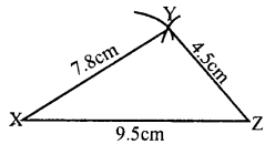 KSEEB Solutions for Class 8 Maths Chapter 12 Construction of Triangles Ex. 12.1 4