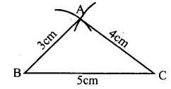 KSEEB Solutions for Class 8 Maths Chapter 12 Construction of Triangles Ex. 12.1 5