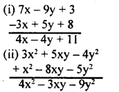KSEEB Solutions for Class 8 Maths Chapter 2 Algebraic Expressions Ex. 2.2 1