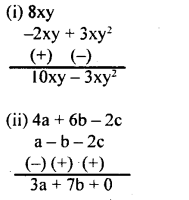 KSEEB Solutions for Class 8 Maths Chapter 2 Algebraic Expressions Ex. 2.2 3