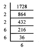 KSEEB Solutions for Class 8 Maths Chapter 5 Squares, Square Roots, Cubes, Cube Roots Ex 5.7 1