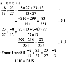 KSEEB Solutions for Class 8 Maths Chapter 7 Rational Numbers Ex 7.3 2