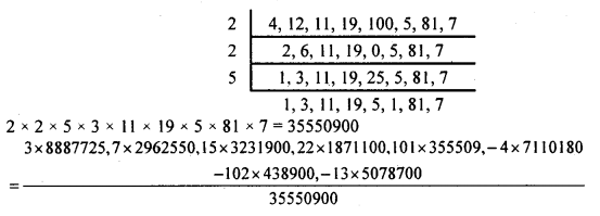 KSEEB Solutions for Class 8 Maths Chapter 7 Rational Numbers Ex 7.4 5