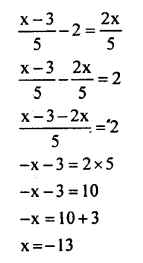 KSEEB Solutions for Class 8 Maths Chapter 8 Linear Equations in One Variable Ex. 8.1 7