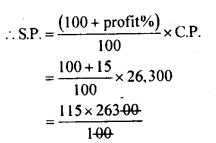 KSEEB Solutions for Class 8 Maths Chapter 9 Commercial Arithmetic Ex. 9.6 5