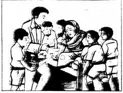 KSEEB Solutions for Class 9 Hindi वल्लरी Chapter 5 मौसी 4