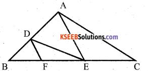 Karnataka SSLC Maths Model Question Paper 1 with Answers - 11