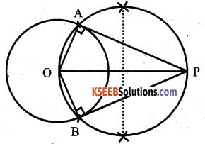 Karnataka SSLC Maths Model Question Paper 4 with Answers - 11