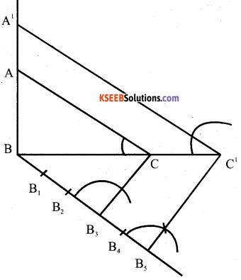 Karnataka SSLC Maths Model Question Paper 4 with Answers - 45